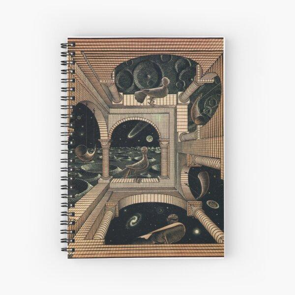 MC ESCHER LABIRINTH Spiral Notebook