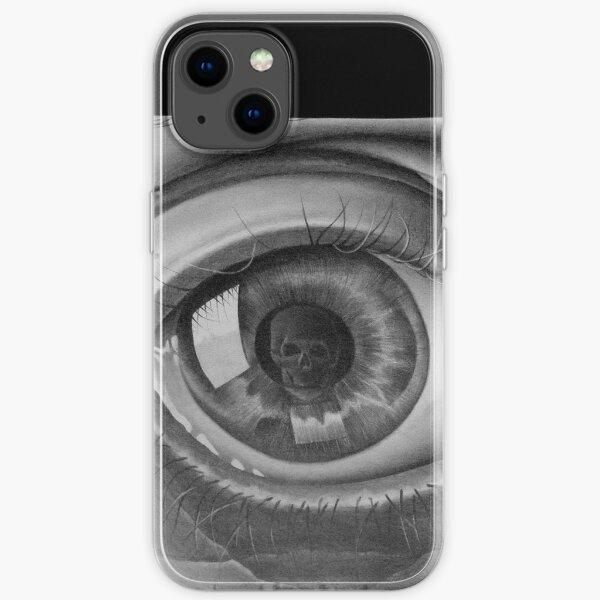 MC ESCHER EYE iPhone Soft Case