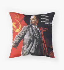 Lenin Poster Dekokissen