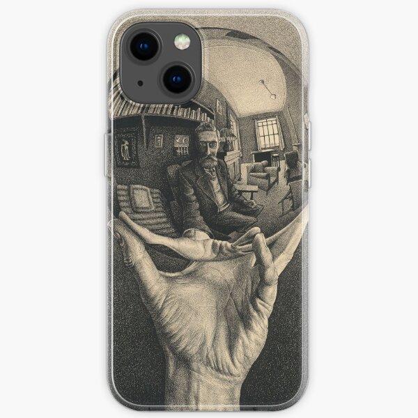 ESCHER REFLECTED BALL iPhone Soft Case