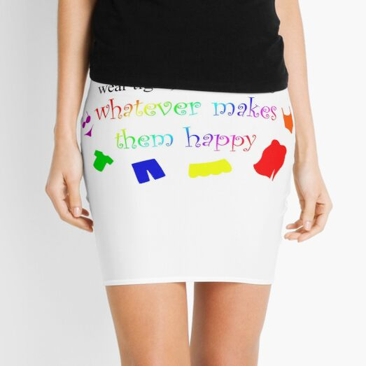 Fat Women Should Wear What Makes Them Happy Mini Skirt