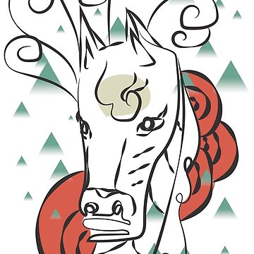 Horse In The Wind by terusaru