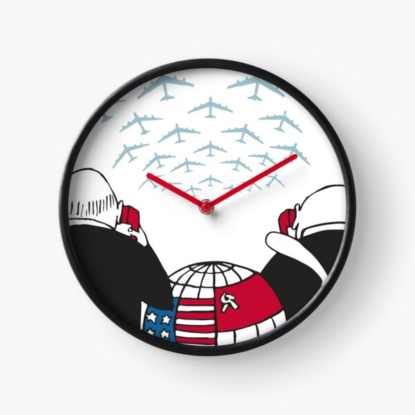Dr Strangelove by Stanley Kubrick Clock