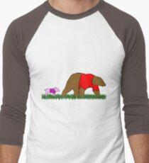 Winnie, and Piglet Men's Baseball ¾ T-Shirt