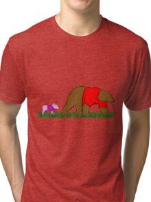 Winnie, and Piglet Tri-blend T-Shirt