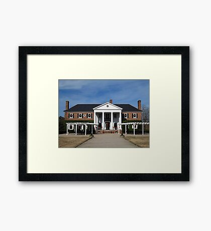 Boone Hall Plantation, Charleston Framed Print
