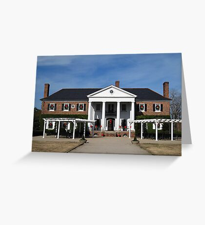 Boone Hall Plantation, Charleston Greeting Card