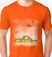 Fish in the clouds Unisex T-Shirt