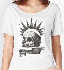 Chloe's Shirt - Misfit Skull Women's Relaxed Fit T-Shirt