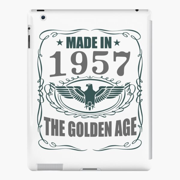 Made In 1957 - The Golden Age iPad Snap Case