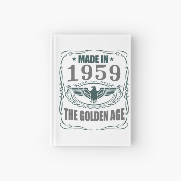 Made In 1959 - The Golden Age Hardcover Journal
