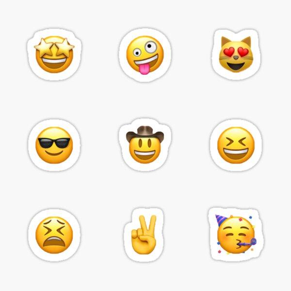 Emoji pack Pegatina