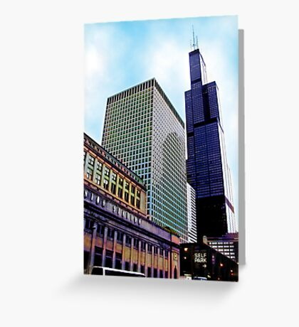 union station, chicago Greeting Card