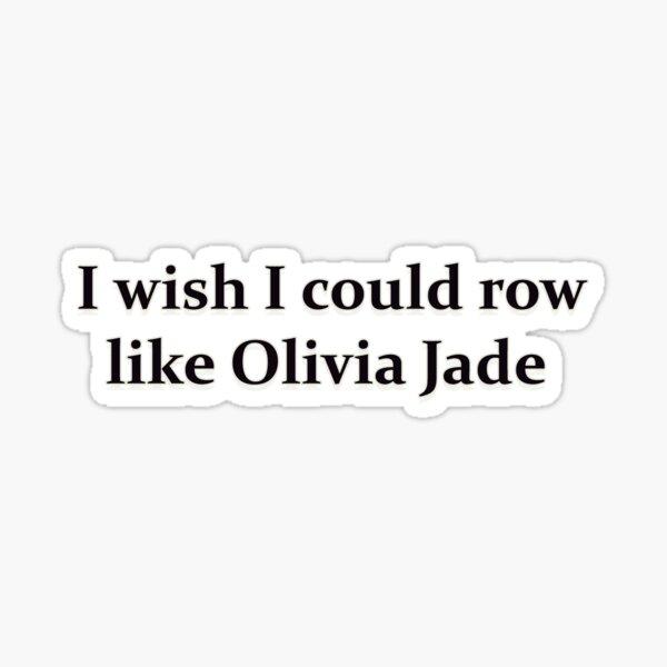 Olivia Jade Sticker
