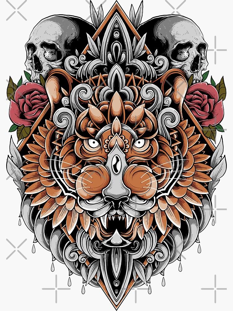Holy Tiger by GODZILLARGE