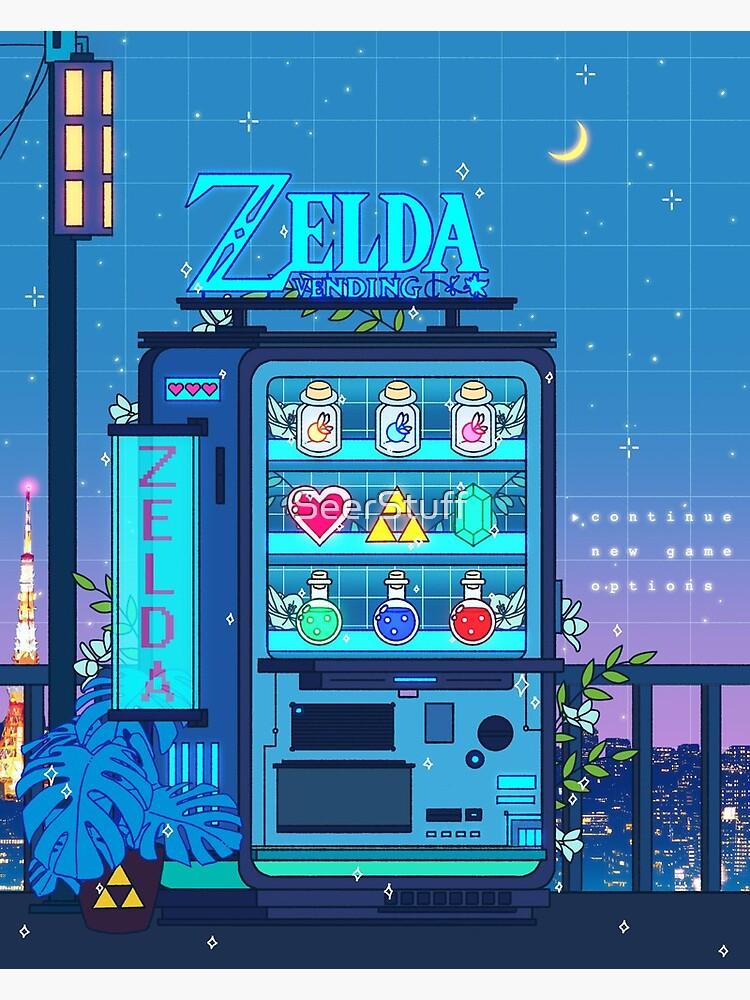 Zelda Vending Machine by SeerStuff