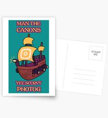 Man the Canons Postcards