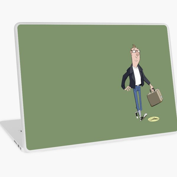 50s-Retro-Jochen by Gilmec (Daniel Djanie) Laptop Folie