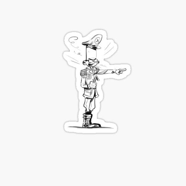 Spirou-Style-Jochen by Zapf Sticker