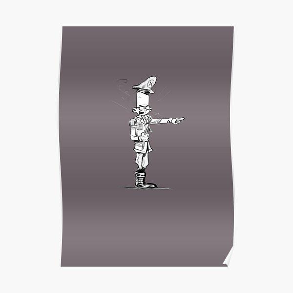 Spirou-Style-Jochen by Zapf Poster