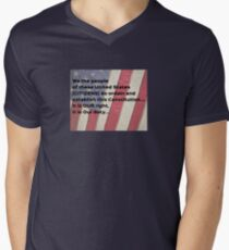 We the Citizens of USA V-Neck T-Shirt