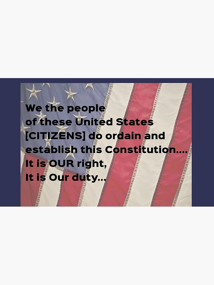 We the Citizens of USA by GreatAwokening