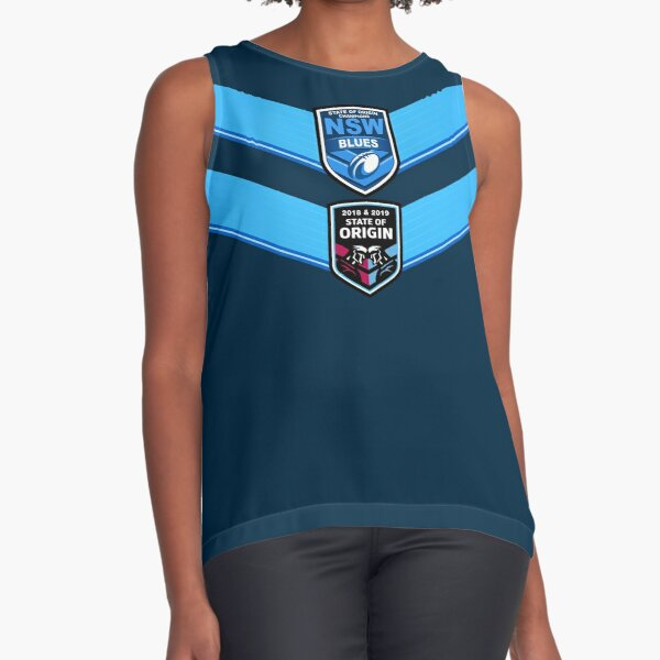State of Origin 2019 NSW BACK2BACK Champions! Sleeveless Top