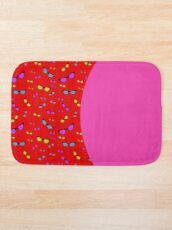 Red and pink sunglasses Bath Mat