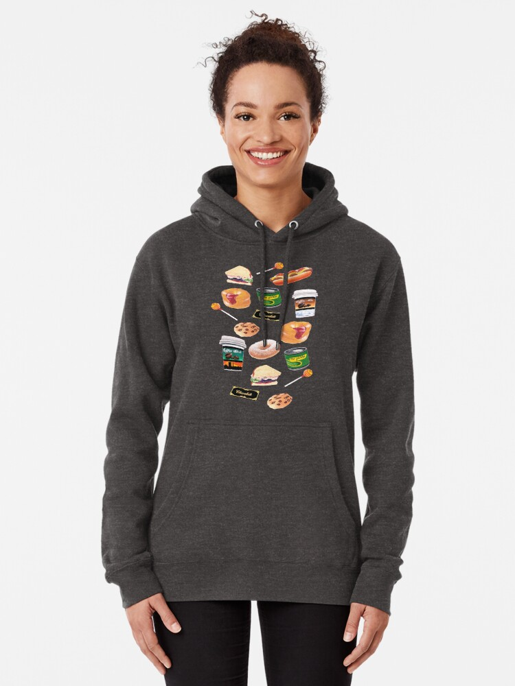 Alternate view of You Stuffed Your Face! Pullover Hoodie