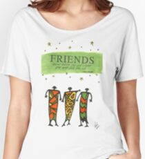 Friends Stand Beside You T-Shirt Women's Relaxed Fit T-Shirt