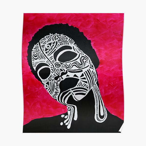 Pink Tribal Poster