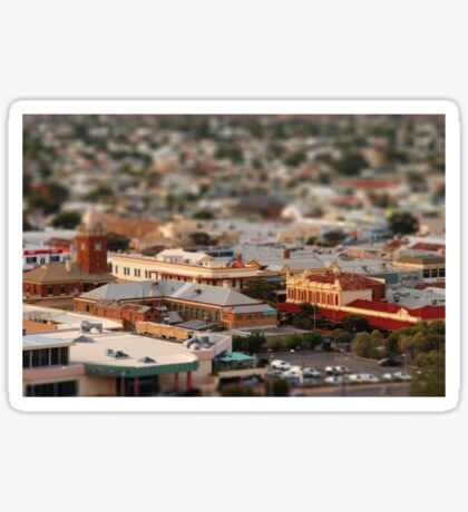hitchhiked back to broken hill...  left my wallet somewhere... Sticker