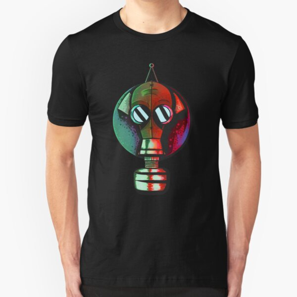 Cernobyl Gas Mask Slim Fit T-Shirt