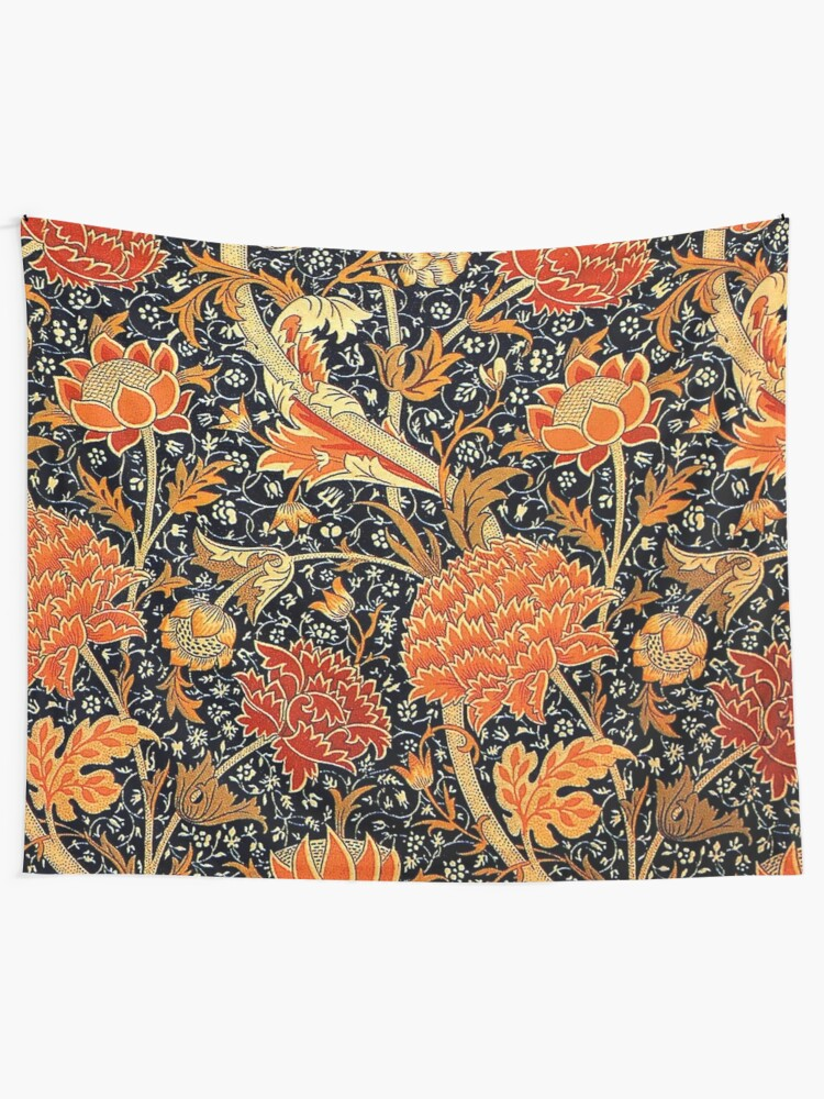 Alternate view of Cray, vintage pattern by William Morris Tapestry