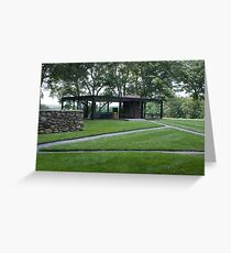Glass House Greeting Card