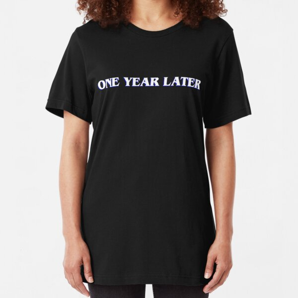 Stranger Things 3 | One Year Later Slim Fit T-Shirt