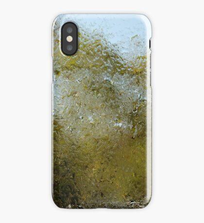 blurry tree iPhone Case/Skin