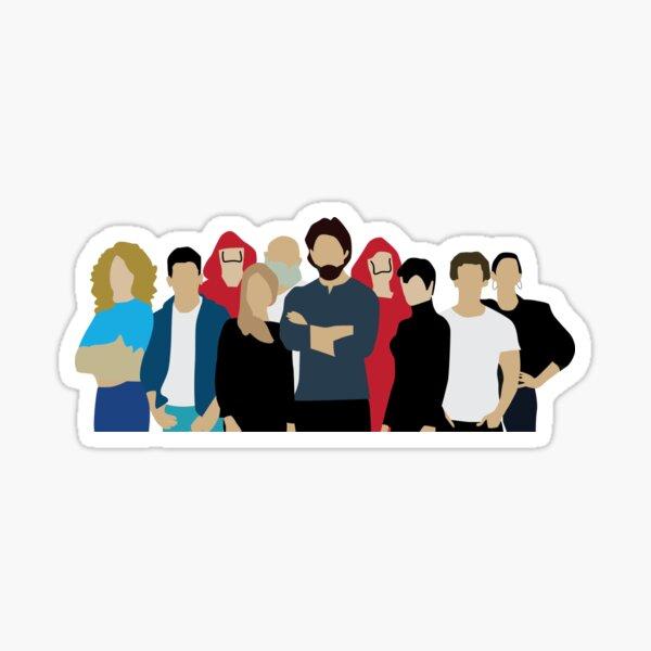 La Casa De Papel/Money Heist Season 3  Sticker