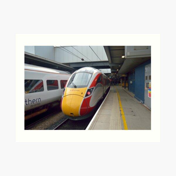 London North Eastern Railway Class 800 Azuma Leeds Art Print
