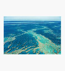 The Great Barrier Reef © Vicki Ferrari Photographic Print