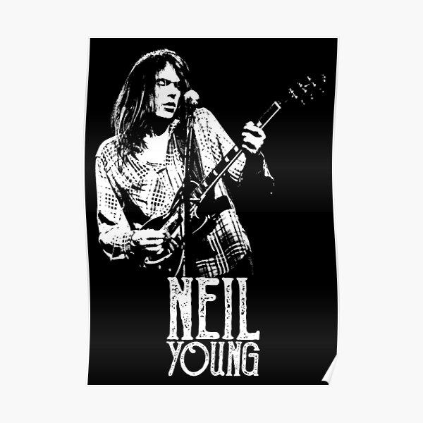 Jeune Neil - Le pochoir blanc Poster