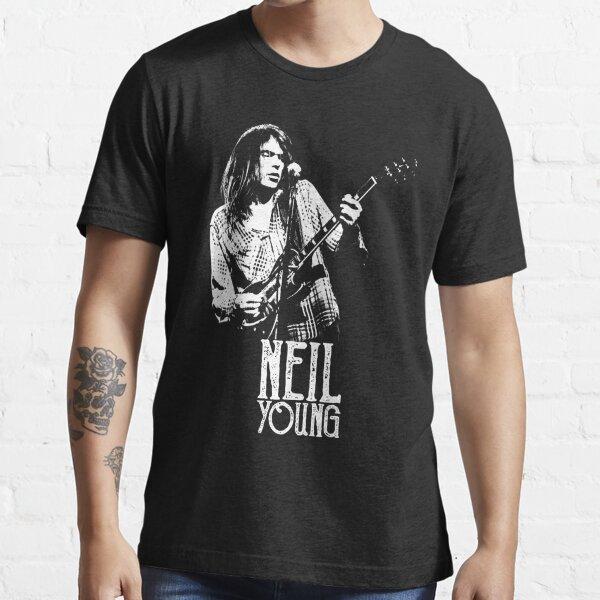 Joven Neil - La Plantilla Blanca Camiseta esencial