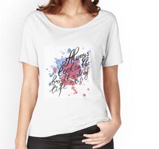 Camiseta ancha