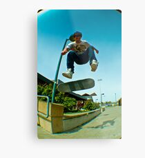 LGI Ledge Flip Metal Print