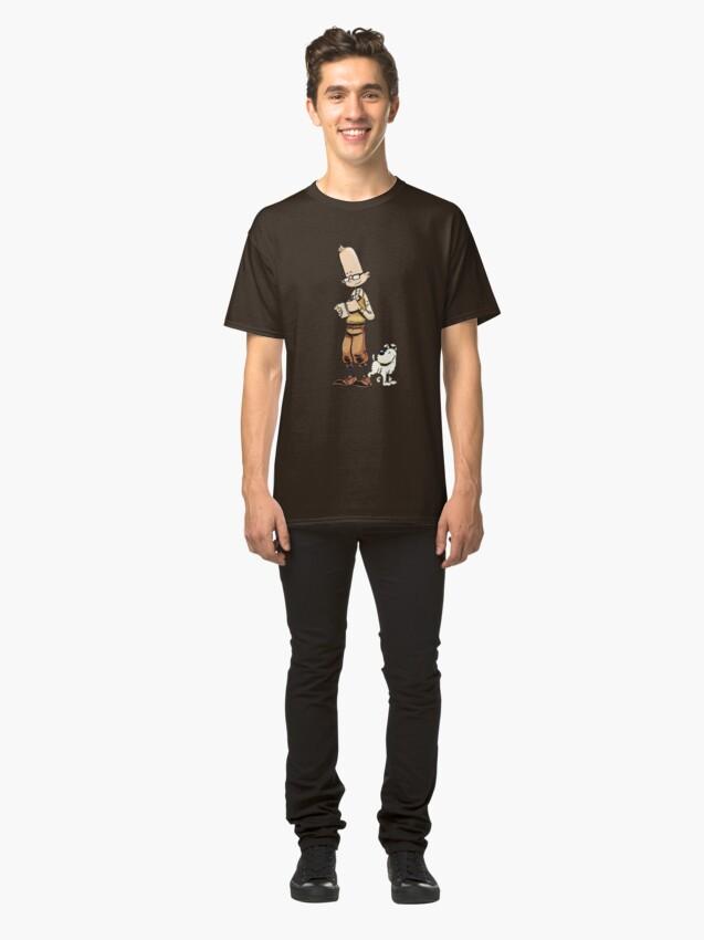 Alternative Ansicht von Till & Struppi by Zapf  Classic T-Shirt