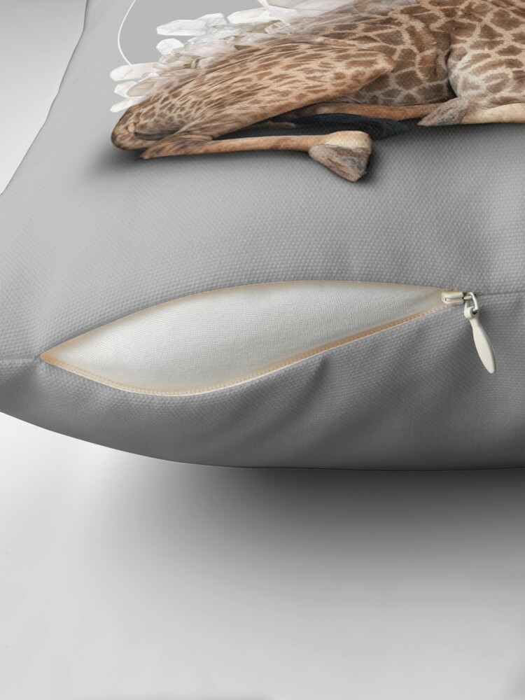 Alternate view of orenda III Throw Pillow