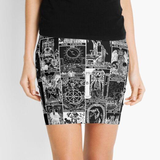 The Major Arcana of Tarot Patchwork Mini Skirt