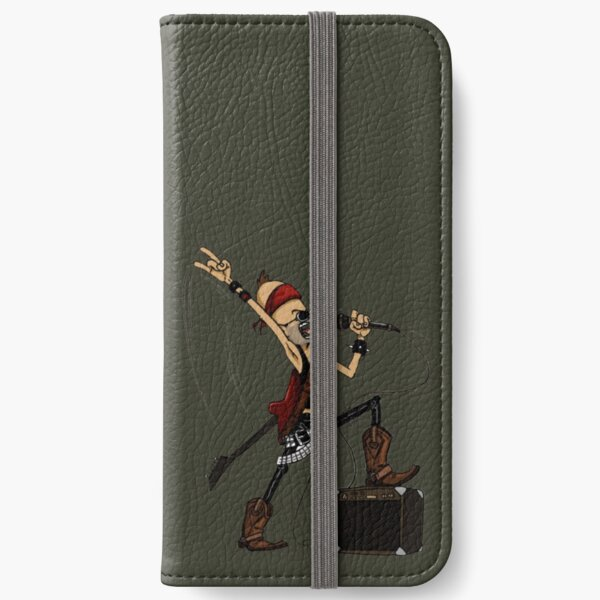 Rockstar Jochen by Zapf iPhone Flip-Case