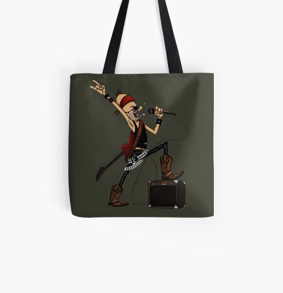 Rockstar Jochen by Zapf Allover-Print Tote Bag