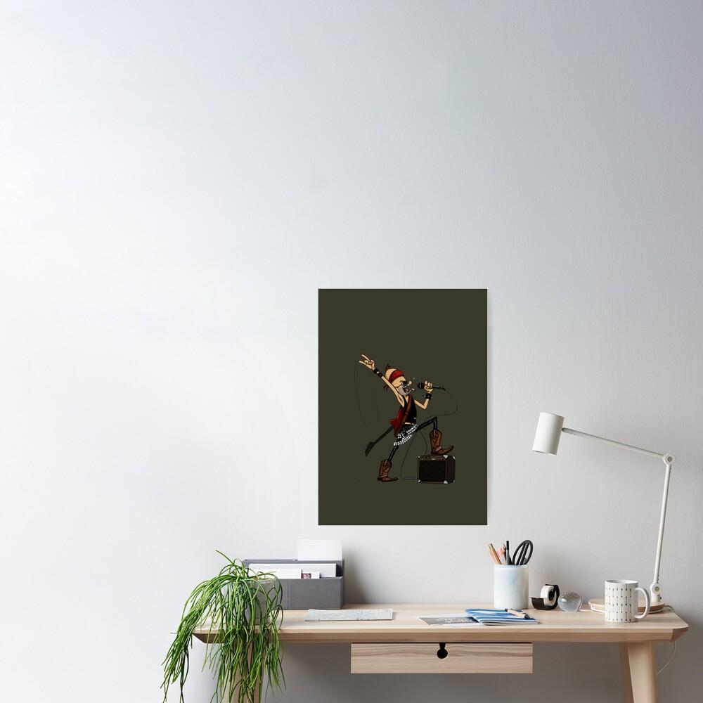 Rockstar Jochen by Zapf Poster